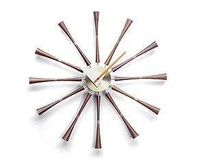 Vitra Modern Spindle Clock by George Nelson
