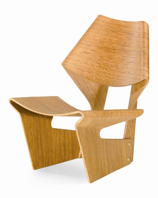 Vitra Miniature Laminated Chair by Grete Jalk
