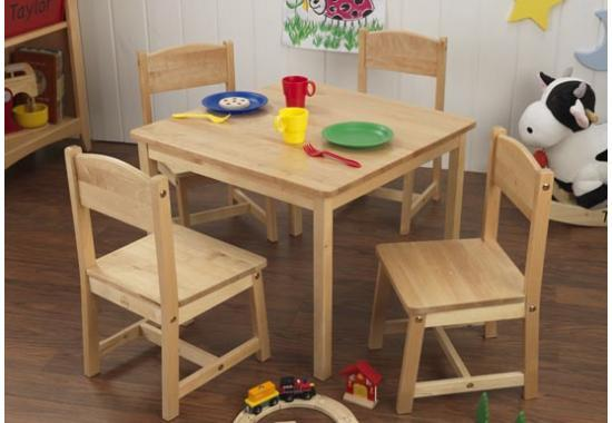 Farmhouse Table & 4 Chairs